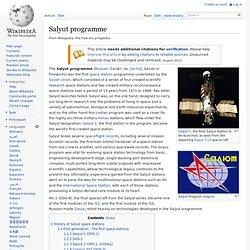 Salyut programme