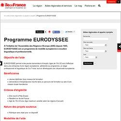 Programme EURODYSSEE