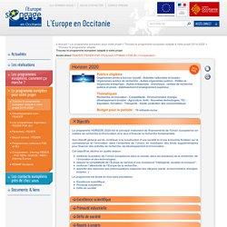 Trouvez le programme européen adapté à votre projet L'Europe en Occitanie