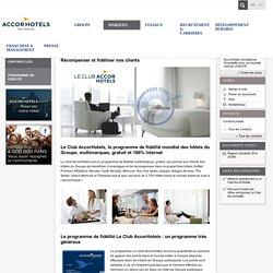 Programme de fidélité - AccorHotels