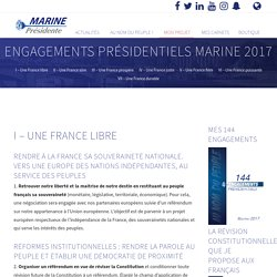 Programme - Marine 2017