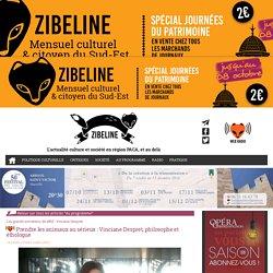 Programme culturel Marseille-Les grands entretiens de WRZ - Vinciane Despret