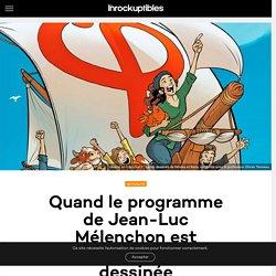 Quand le programme de Jean-Luc Mélenchon est adapté en bande dessinée