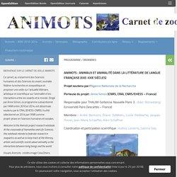 Programme / Membres – Animots