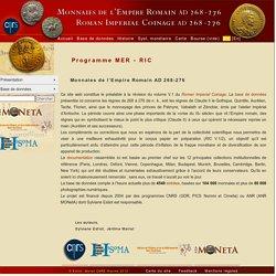 Programme MER - RIC - MER-RIC: RIC V.1/2 Online