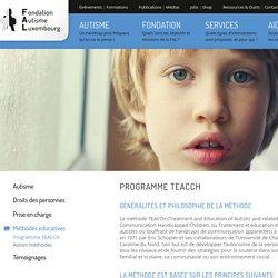 Programme TEACCH - Méthodes éducatives - Un handicap plus fréquent qu'on ne le pense