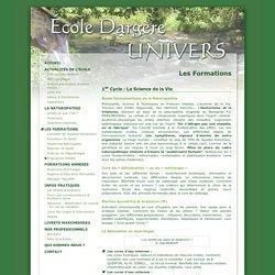 École de Naturopathie DARGÈRE UNIVERS