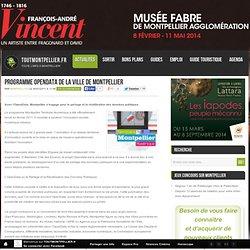 Programme OpenData de la ville de Montpellier