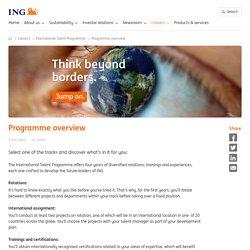 International Talent Programme