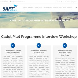 Cathay Pacific Cadet Pilot Programme Interview Preparation