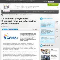Le nouveau programme Erasmus+ mise sur la formation professionnelle