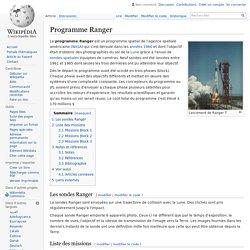 Programme Ranger