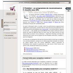 Predator: un programme de reconnaissance visuelle sous GPL