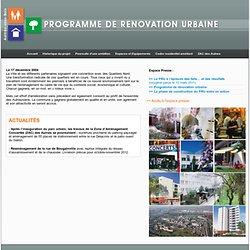 Programme de rénovation urbaine