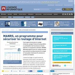 MANRS, un programme pour sécuriser le routage d'Internet