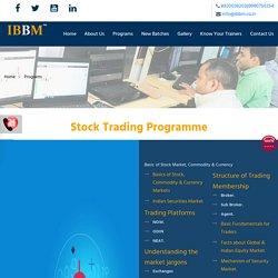 Stock Market Courses in Noida