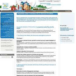 Programme Leader : le tourisme vert, un atout pour le territoire