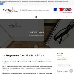 Programme - Transition Numérique