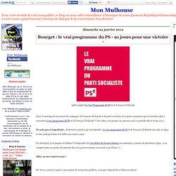 Bourget : le vrai programme du PS - 91 jours pour une victoire -