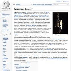 Programme Voyager