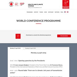 Programme - WorldConference