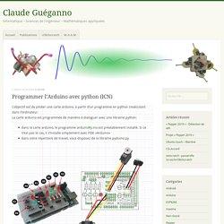 Programmer l'Arduino avec python (ICN)