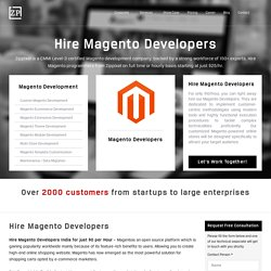 Hire Magento Developer, Magento Ecommerce Solutions