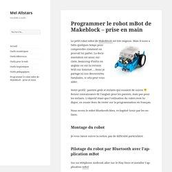 Programmer le robot mBot de Makeblock – Mel Allstars