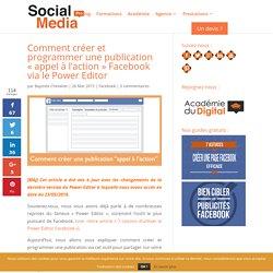 """Créer et programmer une publication """"call-to-action"""" sur Facebook"""