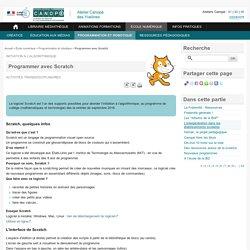 Programmer avec Scratch - L'Atelier Canopé 78 – Marly-le-Roi