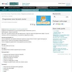 Programmer avec Scratch Junior (généralités / liens)