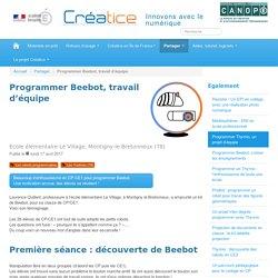 Programmer Beebot, travail d'équipe - Créatice