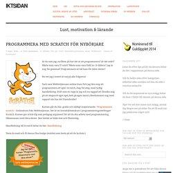 Programmera med Scratch för nybörjare