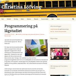 Programmering på lågstadiet