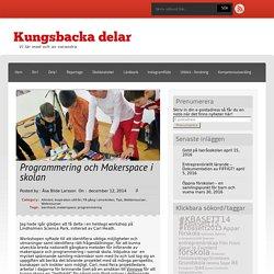 Programmering och Makerspace i skolan
