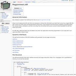 TVDB API