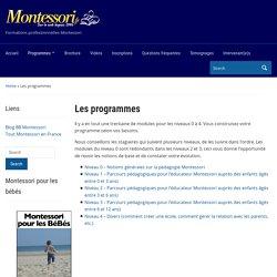 Académie Montessori en France