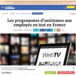 Les programmes d'assistance aux employés en test en France, Bien-être au travail