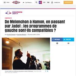 De Mélenchon à Hamon, en passant par Jadot: les programmes de gauche sont-ils compatibles?