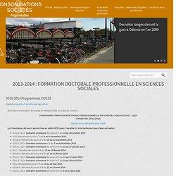 2012-13 Programmes DU123 - Argonautes : Consommation & Société