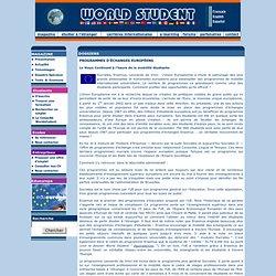 WORLD STUDENT - PROGRAMMES D'ÉCHANGES EUROPÉENS
