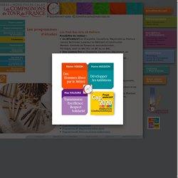 FCMB / Fédération Compagnonnique des Métiers du Bâtiment / Les programmes d'études
