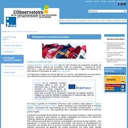 Programmes européens jeunesse