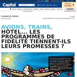 Avions, trains, hôtel... Les programmes de fidélité tiennent-ils leurs promesses