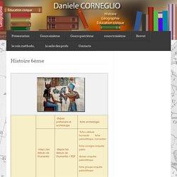 Histoire 6ème (nouveaux programmes) « DANIELE CORNEGLIO,HISTOIRE,GEOGRAPHIE,COLLEGE LA GUICHARDE,COURS,EDUCATION CIVIQUE,TOULON
