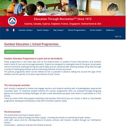 School Programmes - Village Camps - International Summer Camp Europe