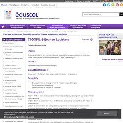 Liste des programmes de mobilité par public - CODOFIL - Séjour en Louisiane