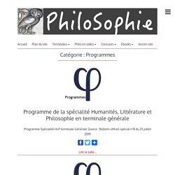 Programmes – PhiloSophie