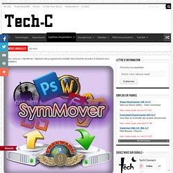 SymMover déplace des programmes sans réinstallation