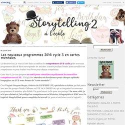 Les nouveaux programmes 2016 cycle 3 réorganisés avec SimpleMind